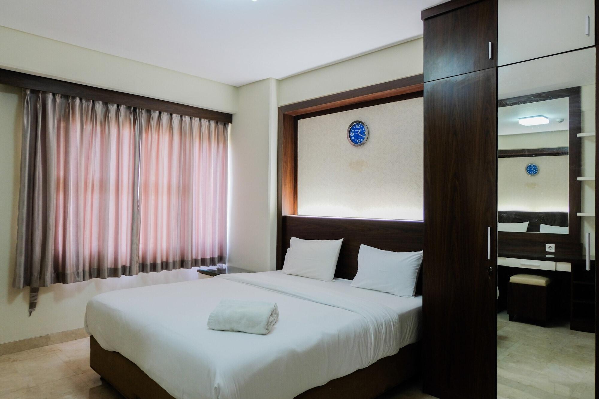 Homey and Relaxing 2BR @ Kondominium Golf Karawaci Apartment, Tangerang