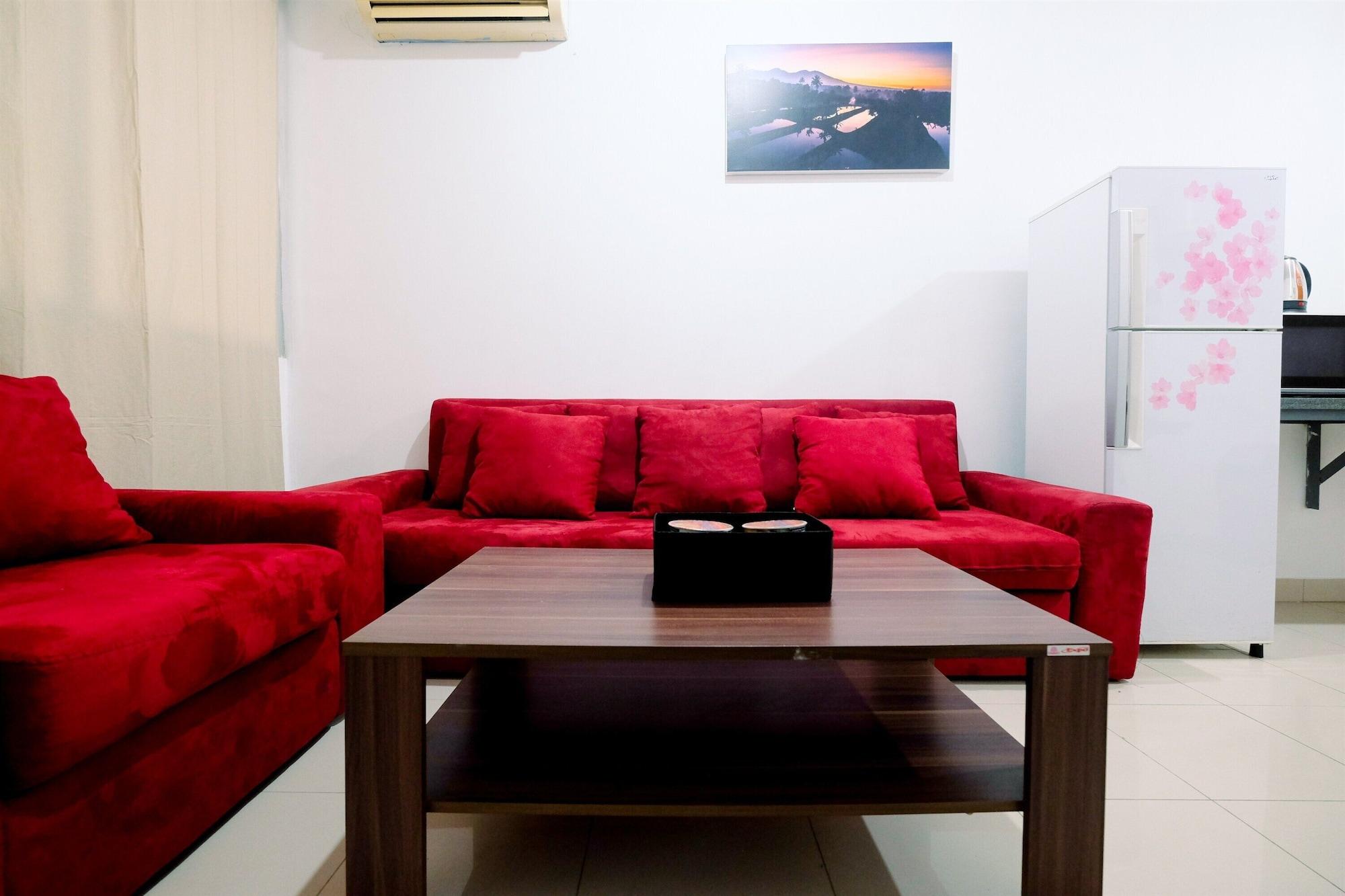 Modern 1BR at Kuningan Place Apartment near Shopping Mall, South Jakarta