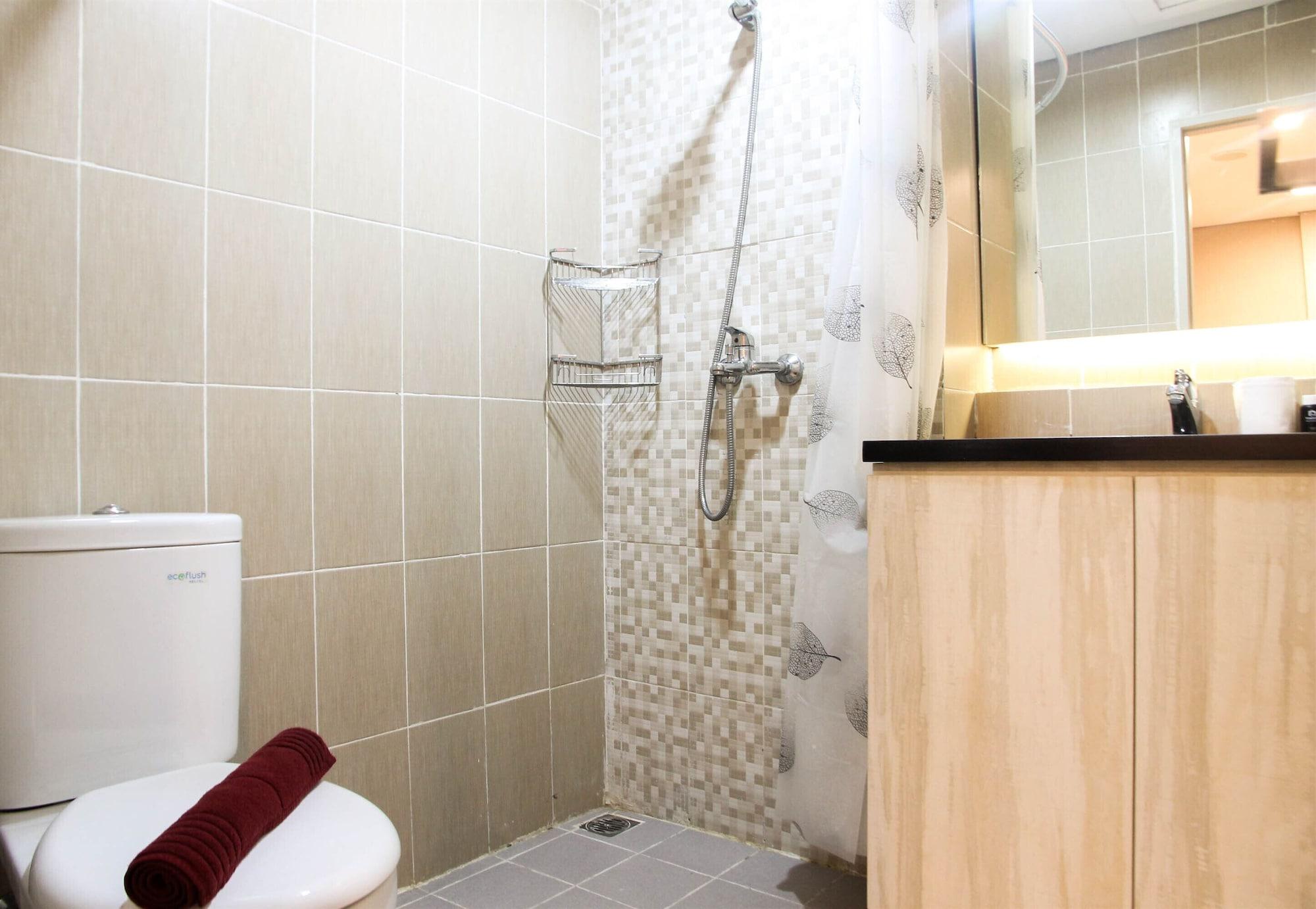 Homey 1BR at Enviro Apartment Cikarang, Cikarang