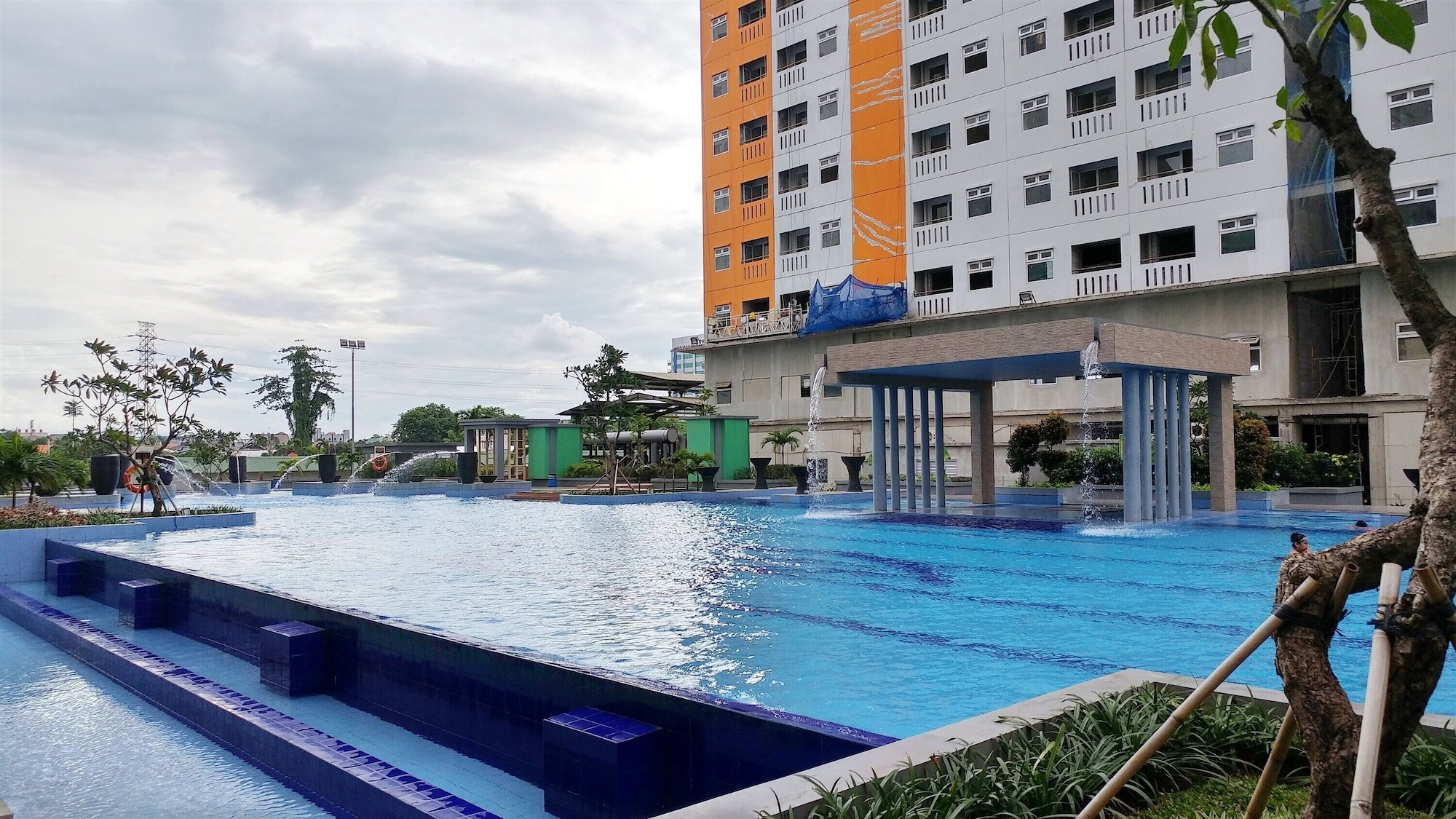 2BR Apartment with Sofa Bed at Green Pramuka City, Central Jakarta