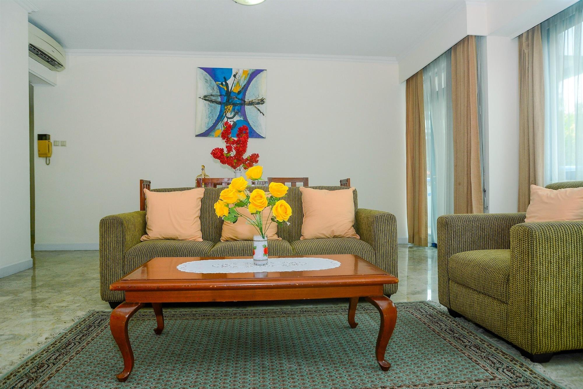 Spacious 3BR Prapanca Apartment near Lippo Mall Kemang, South Jakarta
