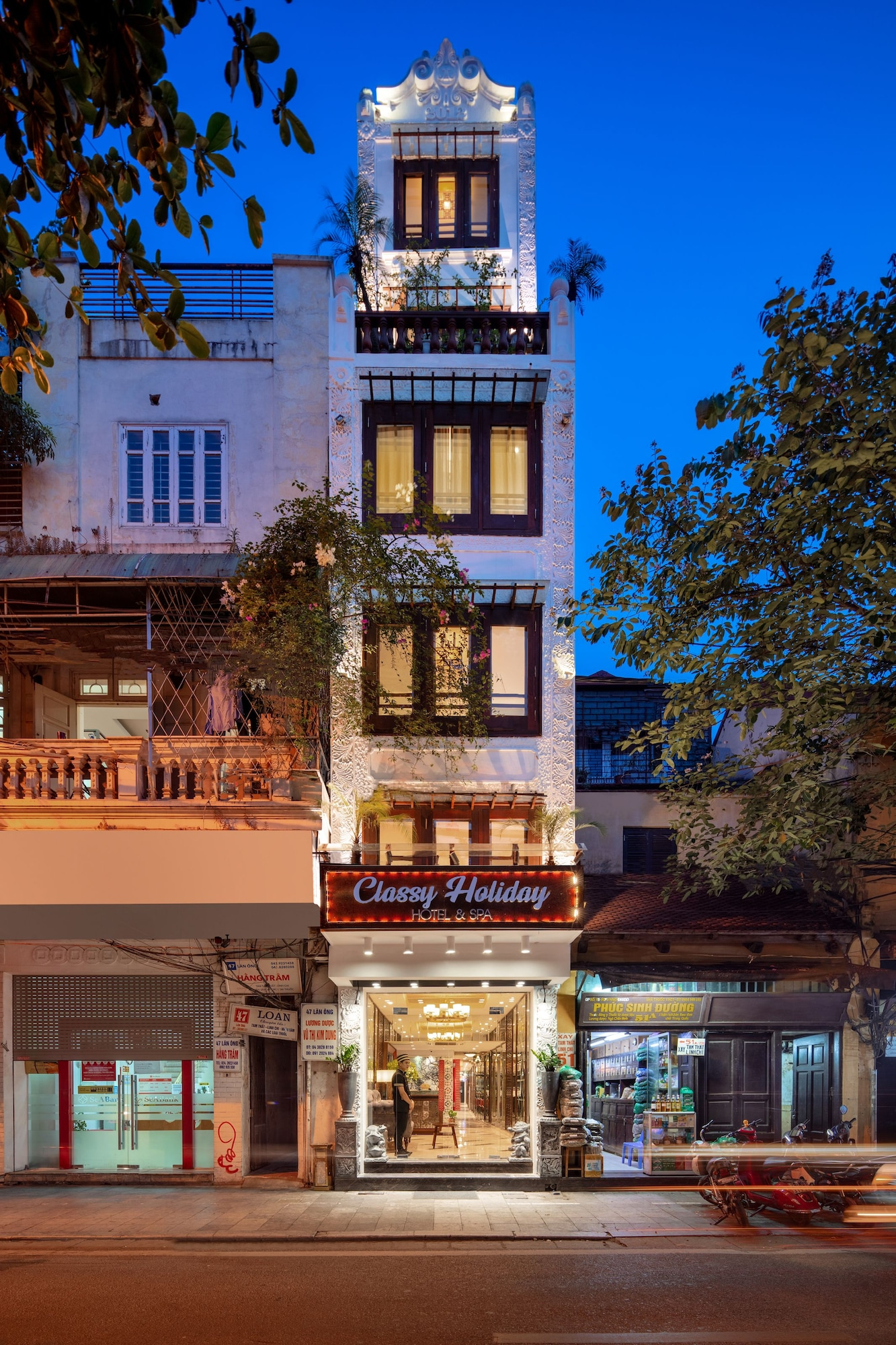 Classy Holiday Hotel & Spa, Hoàn Kiếm