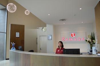 Reception at Ramada Hotel & Suites Sydney Cabramatta in Cabramatta