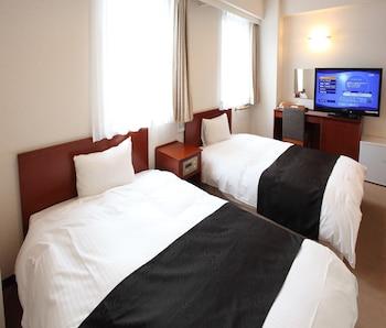 ツインルーム 喫煙可|アパホテル〈秋田千秋公園〉