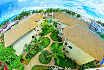 Ambassador In Paradise Resort Boracay Aerial View