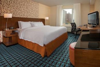 Guestroom at Fairfield Inn & Suites New York Manhattan/Downtown East in New York