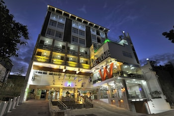 Wellcome Hotel Cebu Hotel Front - Evening/Night