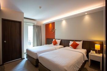 Deluxe Tek Büyük Veya İki Ayrı Yataklı Oda, Balkon