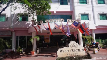 Wild Orchid Resort Subic Front of Property