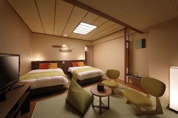 湯の街館 和洋室 2食付(夕食:ブッフェ)禁煙(4~6階)|30㎡|鬼怒川温泉ホテル