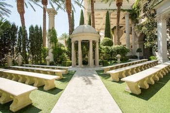 Outdoor Wedding Area at Nobu Hotel at Caesars Palace in Las Vegas