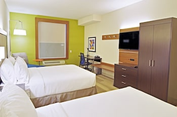 Guestroom at Holiday Inn Express Hotel & Suites Phoenix North Scottsdale in Phoenix