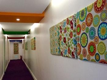 Orchid Garden Suites Manila Hallway
