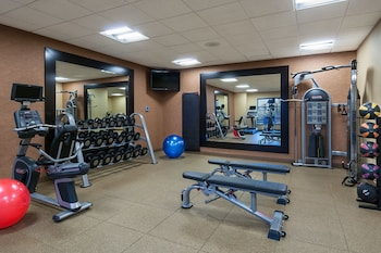 Gym at Homewood Suites by Hilton Fort Worth - Medical Center, TX in Fort Worth