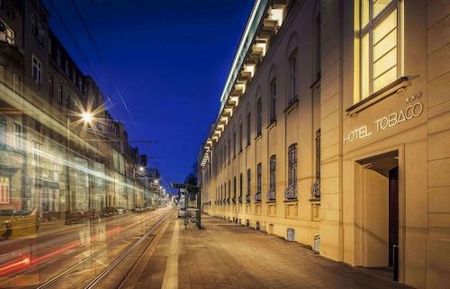 Łódź - Hotel Tobaco - z Krakowa, 1 kwietnia 2021, 3 noce