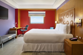 Junior Suite, 1 King Bed, Lagoon View