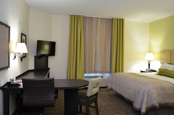 Studio Suite, 1 Queen Bed, Accessible (Hearing)
