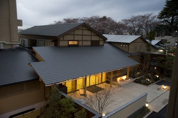 MIKASA RYOKAN Front of Property - Evening/Night
