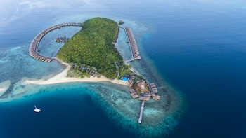 Huma Island Resort & Spa Coron Aerial View