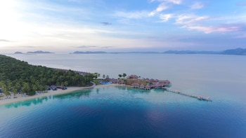 Huma Island Resort & Spa Coron Aerial View