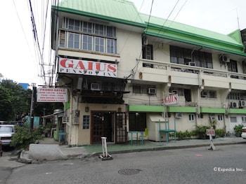 Gaius Pension Inn Manila Hotel Front