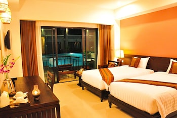 Deluxe Double or Twin Room, Pool Access