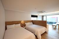 皇家套房, 2 張雙人床, 城市景觀