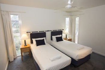 Guestroom at Couran Cove Island Resort in South Stradbroke Island