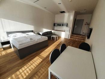 Comfort Apartment, 1 Bedroom, Terrace, City View (704)