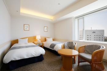 本館 スタンダード ツインルーム 禁煙|29㎡|ホテル 京セラ