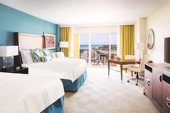 Club Room, 2 Queen Beds, Non Smoking, Ocean View