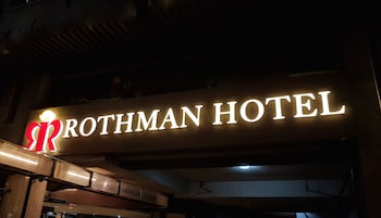 Rothman Hotel Manila Hotel Front - Evening/Night