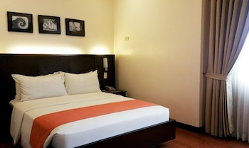 Deluxe Double or Twin Room, 1 Bedroom, Accessible, City View