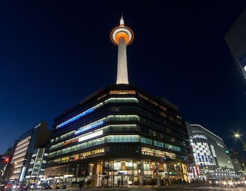 KYOTO TOWER HOTEL Front of Property - Evening/Night