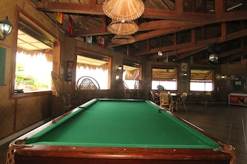 Bodo's Bamboo Bar Resort Cebu Billiards