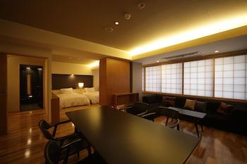 和洋室ツインルーム-中庭の見えるお部屋 禁煙【49㎡】|50㎡|蔵宿いろは