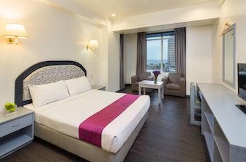 V Hotel Living Area