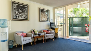 Lobby Sitting Area at Toowong Central Motel Apartments in Toowong
