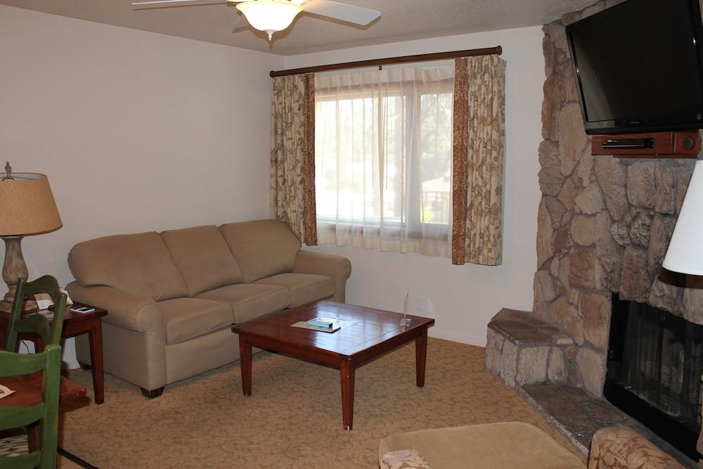 겟어웨이스 앳 스노우 레이크 로지(Getaways at Snow Lake Lodge) Hotel Image 4 - Living Room