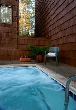 겟어웨이스 앳 스노우 레이크 로지(Getaways at Snow Lake Lodge) Hotel Image 9 - Outdoor Spa Tub