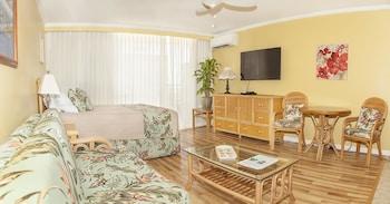 威基基海上衝浪熱帶開放式公寓飯店