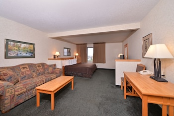 Standard Suite, 1 King Bed, Jetted Tub (Twin or Full Sofa Bed, Outside Access)
