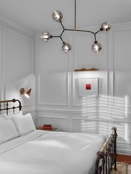 Guestroom at Life Hotel NoMad in New York