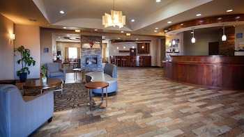 Lobby at Best Western Plus Fort Worth Forest Hill Inn & Suites in Fort Worth