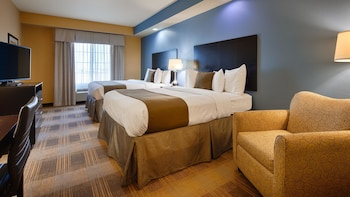 Guestroom at Best Western Plus Fort Worth Forest Hill Inn & Suites in Fort Worth