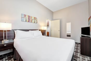 Suite, 1 King Bed with Sofa bed, Kitchenette
