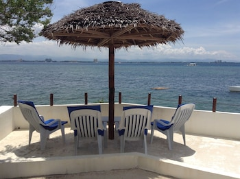 Talima Beach Villas And Dive Resort Mactan View from Hotel