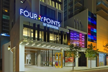 Hotel Entrance at Four Points by Sheraton Brisbane in Brisbane