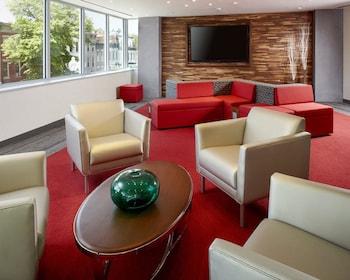 Lobby at Cambria Hotel Washington, D.C. Convention Center in Washington