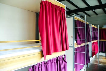 Bed in 18 Pod Dorm with Shared Bathroom